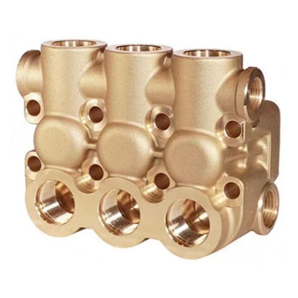 Головная часть насоса NMT-NPM (Блок клапанный NMT-NPM 1/2″-3/8″)