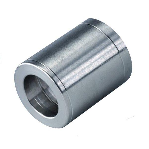 Муфта обжимная 1SN DN06, внут.диаметр-13,2mm, длина-30mm, оцинк.сталь