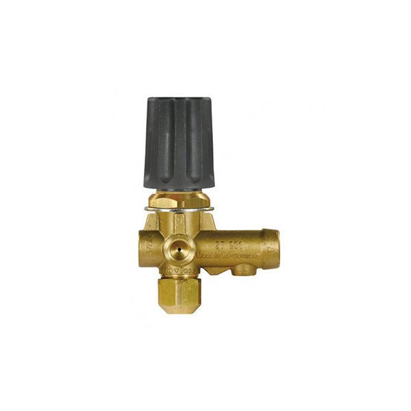 Регулятор давления ST-261, 250bar, 30 l/min, вход 3/8внут, выход 3/8внут, bypass 1/4внут, манометр 1/4внут