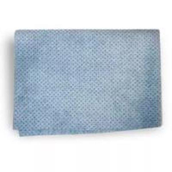 Замша перф. 54х40, голубая