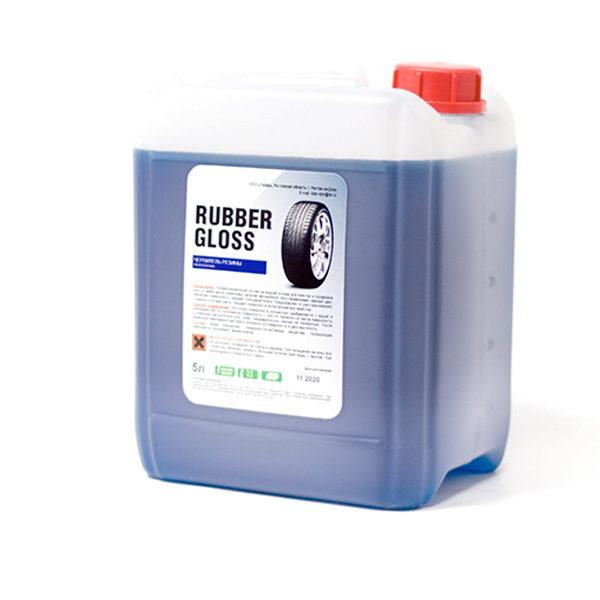 RUBBER GLOSS. Чернитель резины PROFESSIONAL, 5 л.